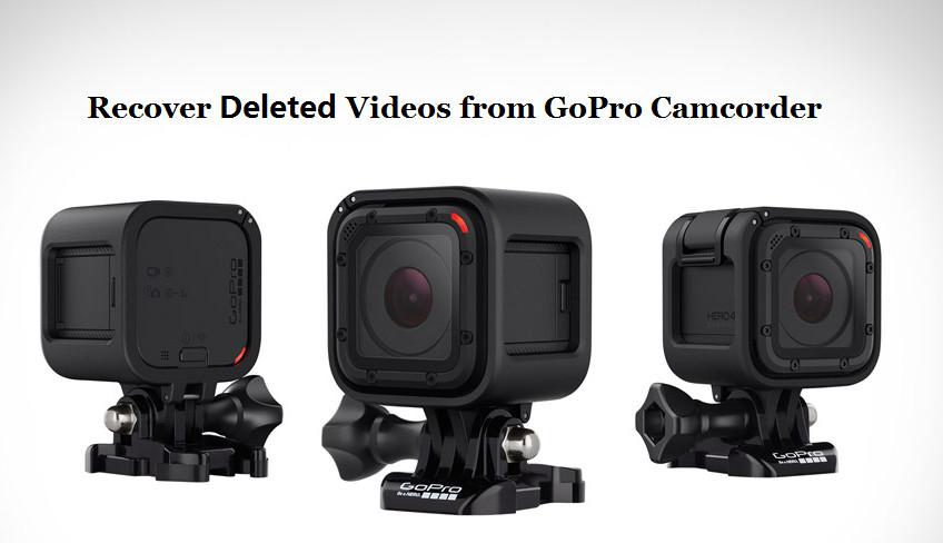 从gopro摄像机恢复已删除的视频