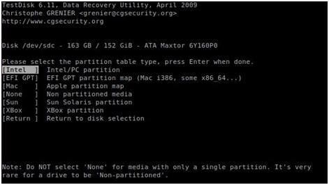 测试磁盘Linux数据恢复