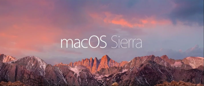 更新到mac os sierra-installation