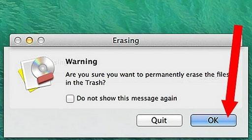 删除Mac上的文件