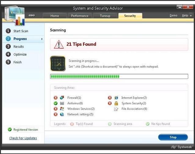 用于从Windows中删除不需要的文件的高级系统优化程序