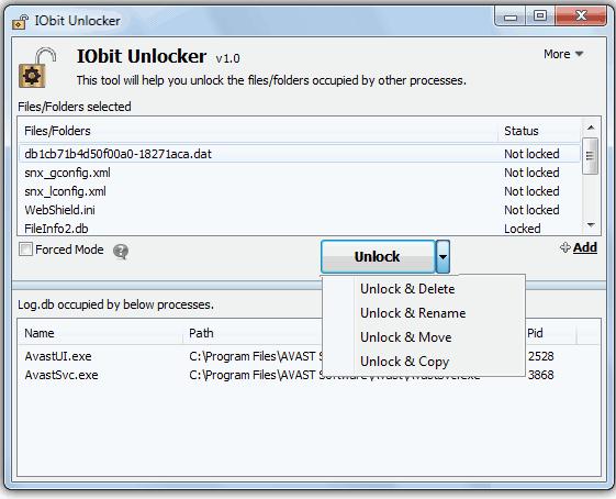 delete-doctor-IObit unlocker的替代品