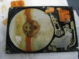 hard drive physical failure