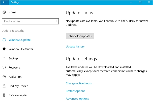 修复Windows 10更新问题