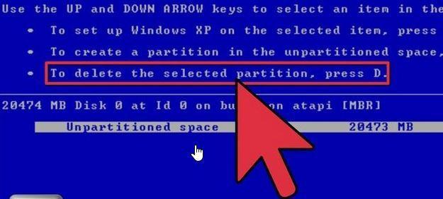 擦除Windows步骤2中的硬盘驱动器数据