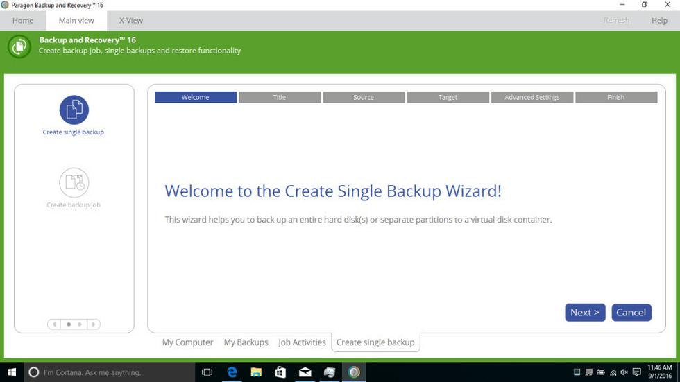 Windows备份软件2018-Paragon Backup&Recovery 16