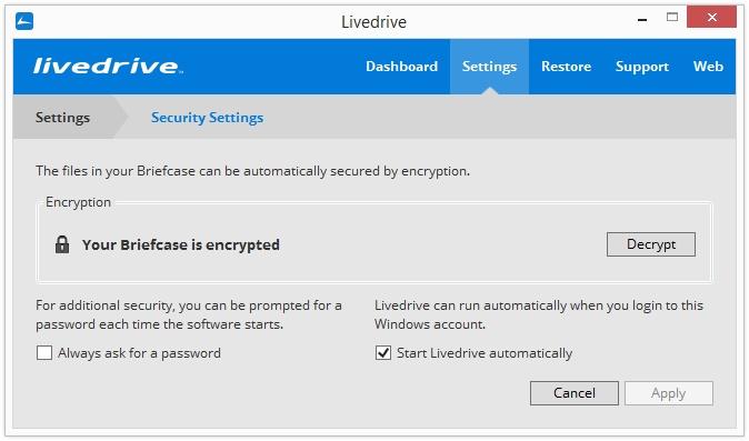 LiveDrive云备份