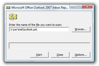 修复outlook pst文件