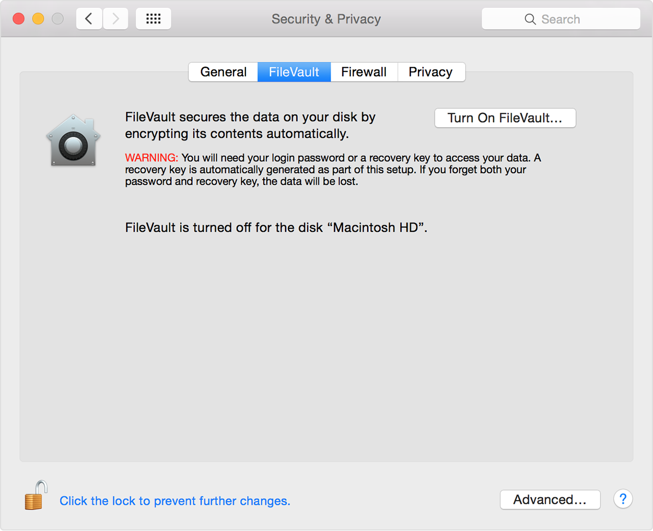 密码恢复Mac