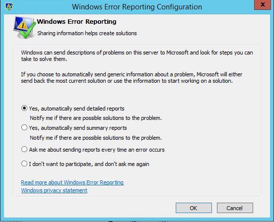Windows错误报告