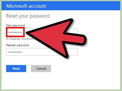 重置你的密码