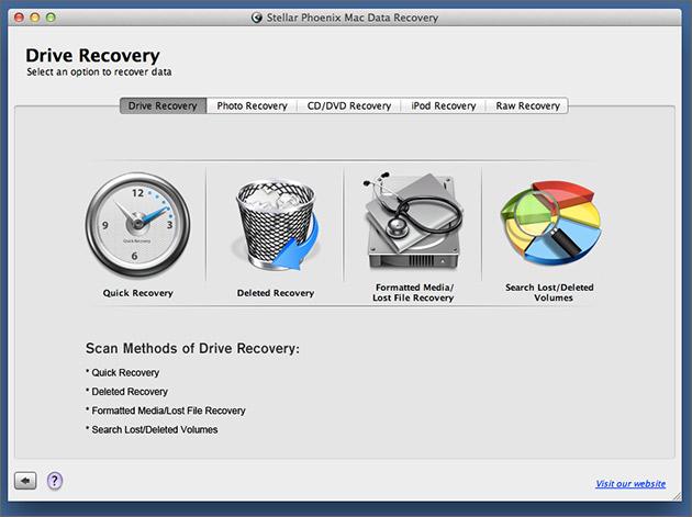 恒星凤凰MAC数据恢复