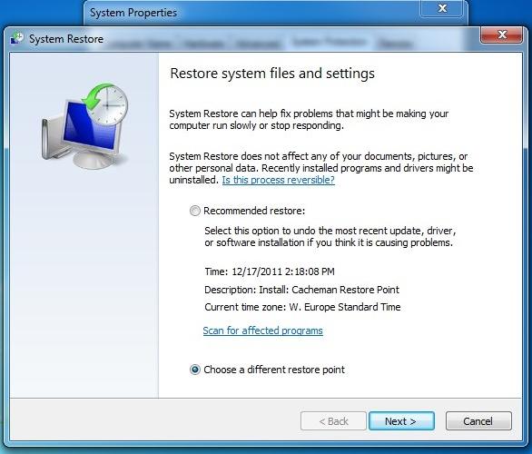 备份Windows 7注册表
