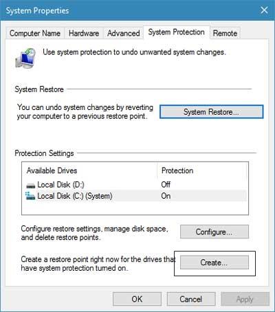 Windows 10中的备份注册表