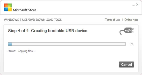 可启动的USB设备