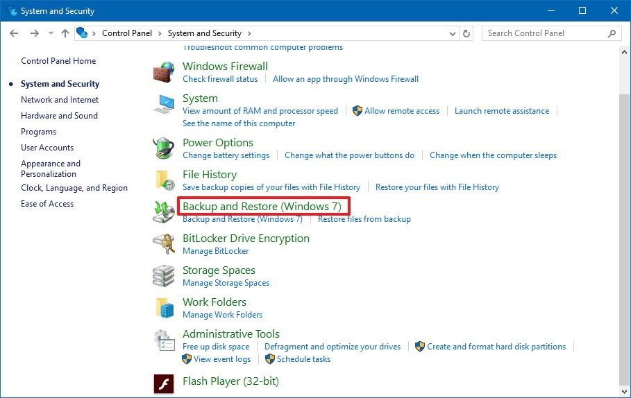 Windows 10映像备份