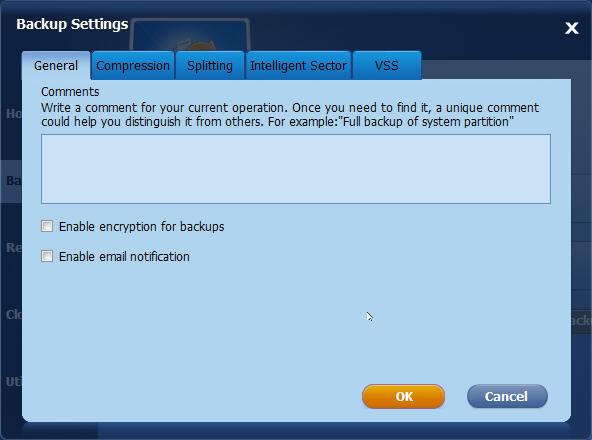 AOMEI Backupper具有许多实用程序