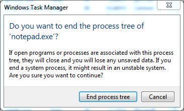 结束删除Windows中正在使用的文件的过程