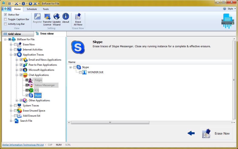 擦除Skype聊天记录