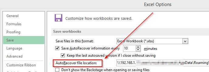 自动恢复Word文件
