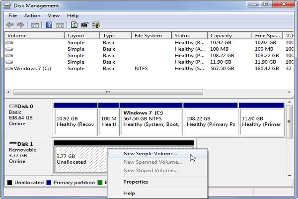 修复Windows步骤5中无法识别的硬盘驱动器