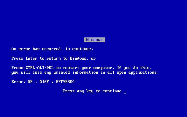 电脑蓝屏怎么恢复