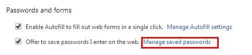 来自浏览器的Gmail密码破解程序 - 获取密码管理