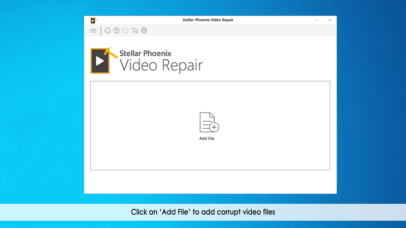 添加损坏的视频文件