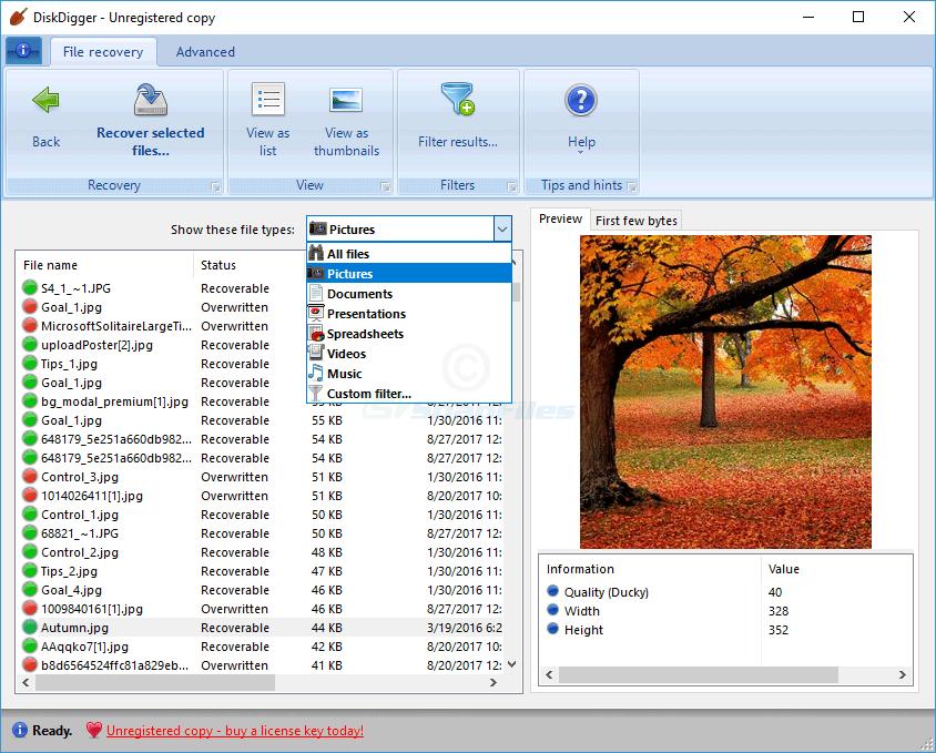 diskdigger免费视频恢复软件