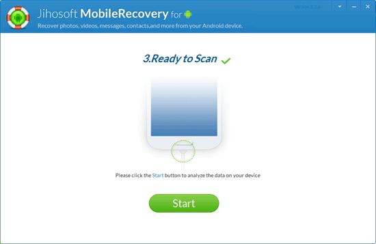 jihosoft android手机恢复软件