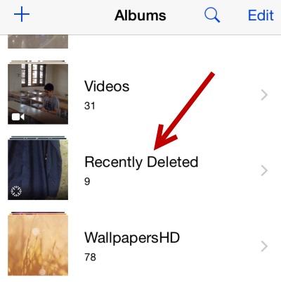 从iphone恢复已删除的照片