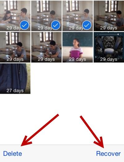 iphone删除了照片恢复