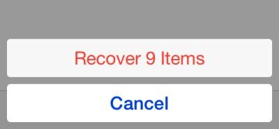 从iphone恢复最近删除的照片