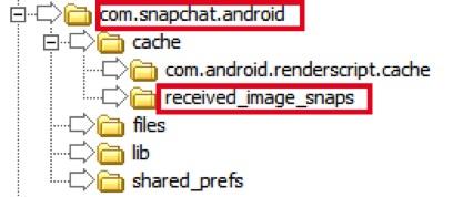 在Android上恢复Snapchat照片