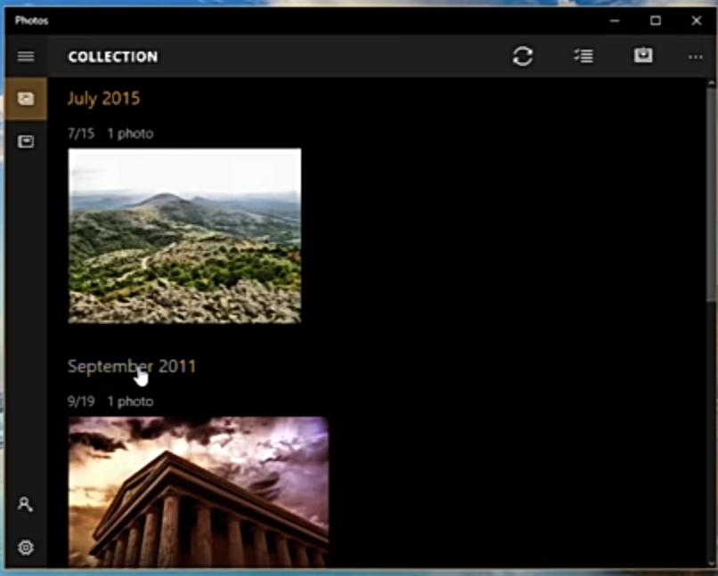 设置Windows照片查看器以恢复照片查看器