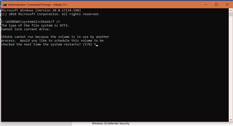 修复Windows 10 100%磁盘使用问题