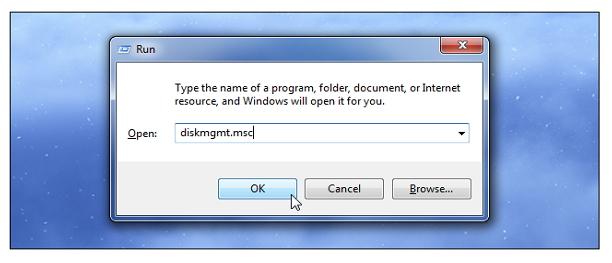 修复Windows上无法识别的硬盘驱动器步骤2
