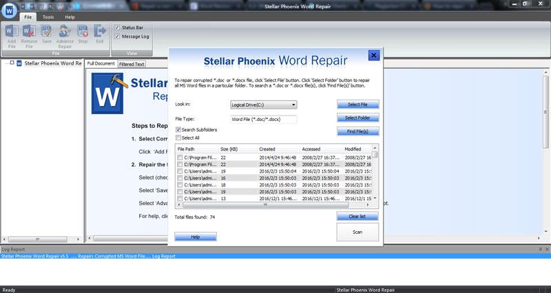 从损坏的Word文件中恢复文本,步骤2