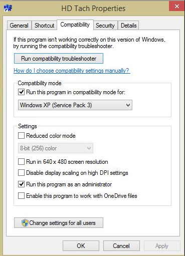 Windows-HD Tack-2硬盘速度测试