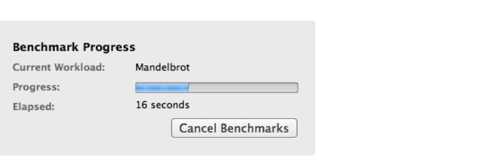 Mac硬盘2的Geekbench速度测试