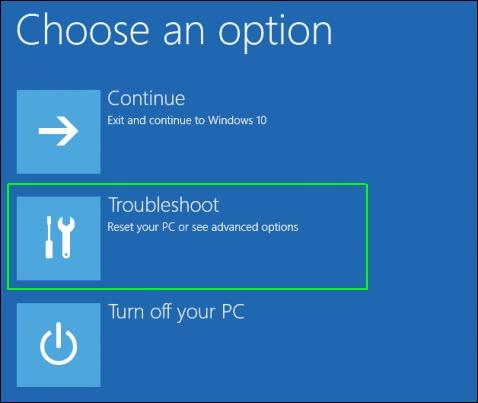 修复Windows 10故障