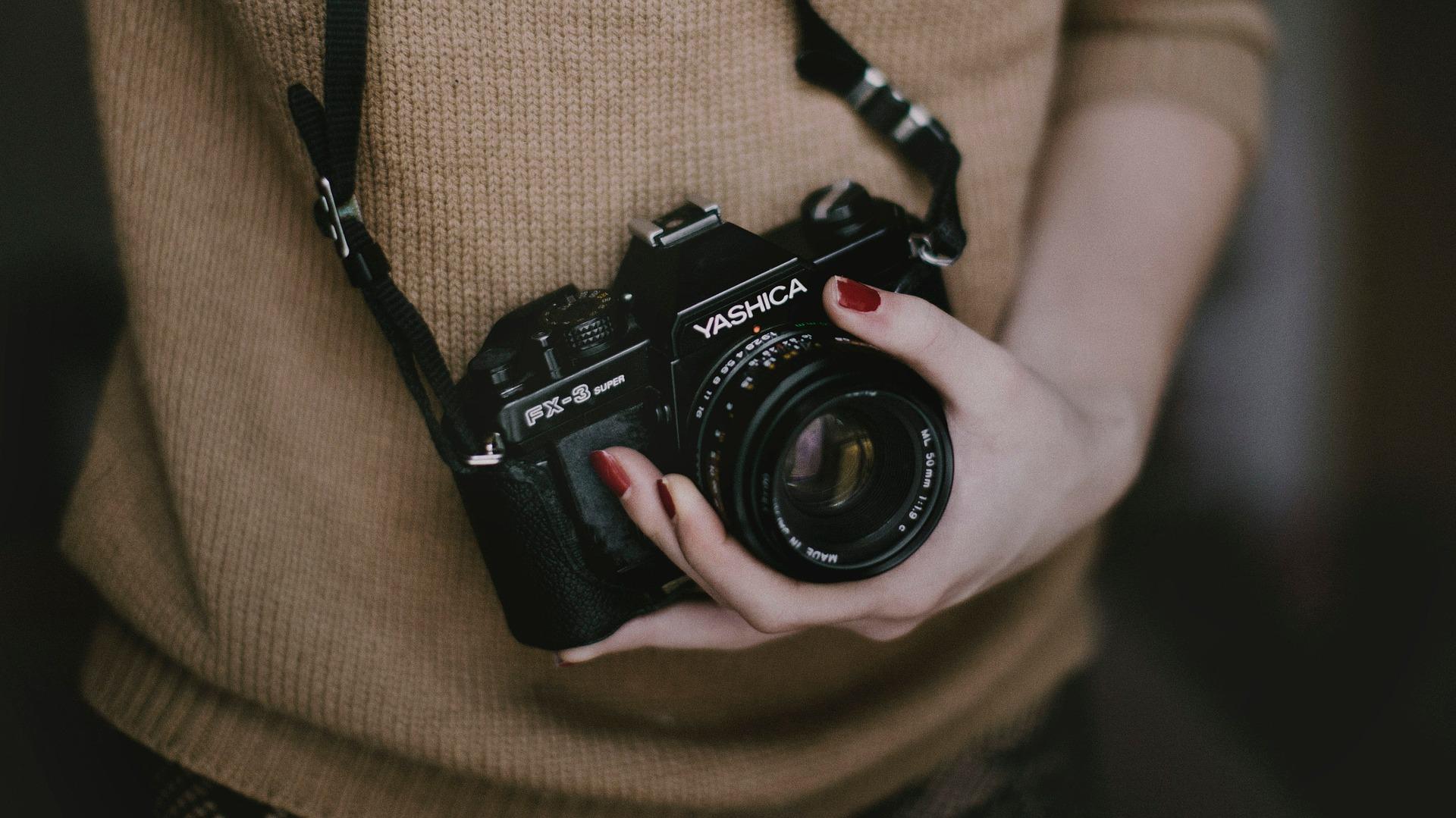 有多种滤镜的相机