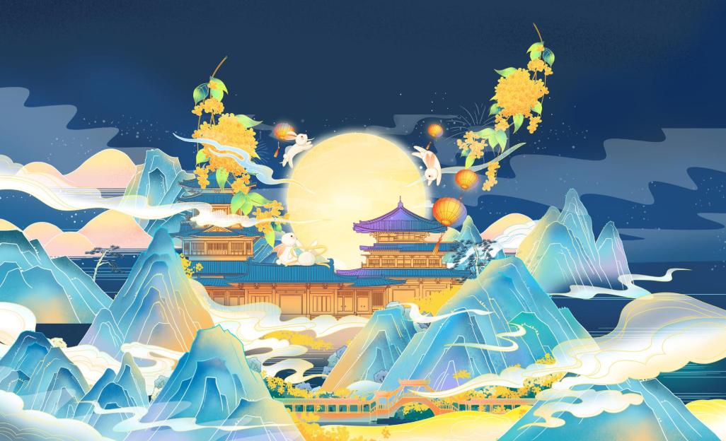 如何制作一个别出心裁的中秋节祝福视频呢
