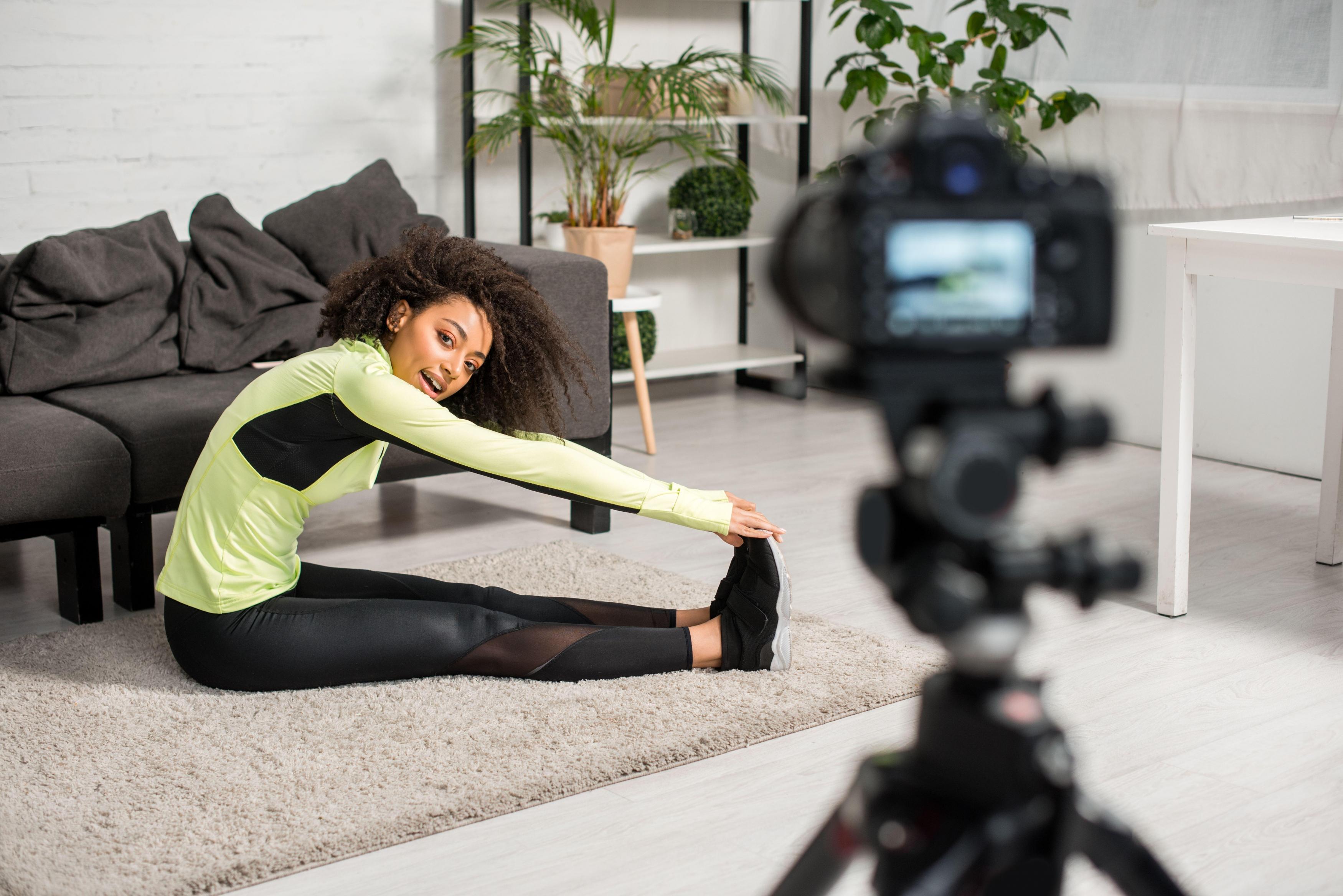 如何用健身vlog记录身材变化