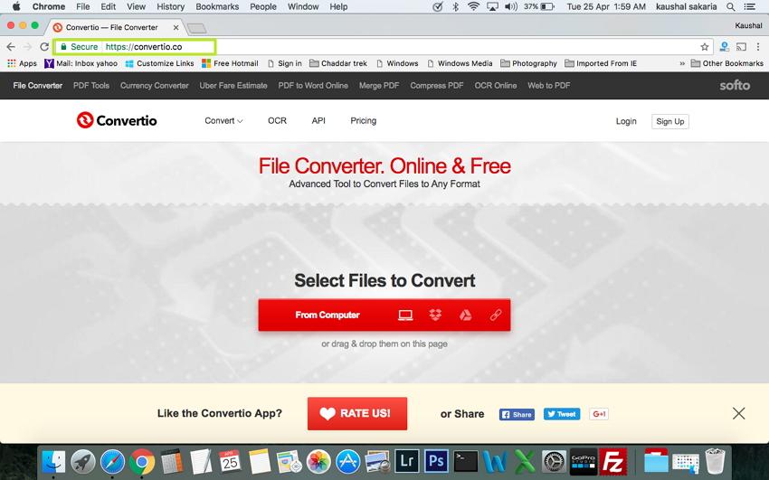 在Mac上将MTS / M2TS转换为MP4  - 打开浏览器