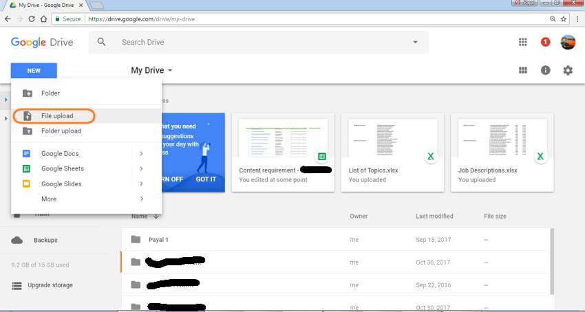 如何使用Google云端硬盘压缩电子邮件的视频文件