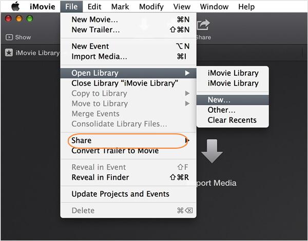 如何通过iMovie在Mac上压缩视频电子邮件