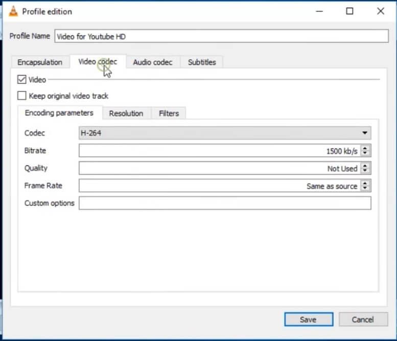 使用VLC免费压缩MKV文件
