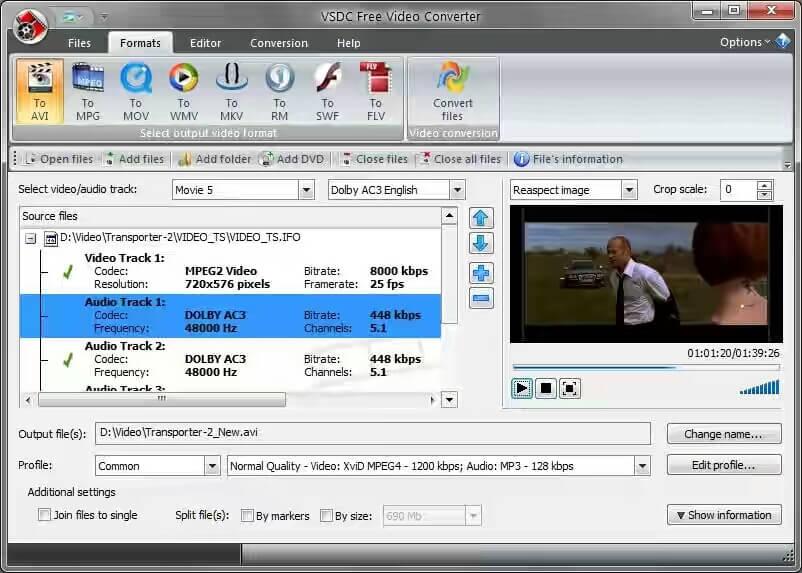 使用VSDC视频转换器压缩MP4