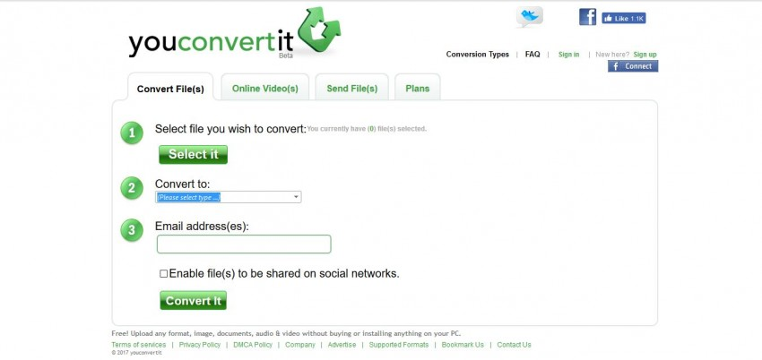 MOV转MP4转换器在线 -  Youconverterit